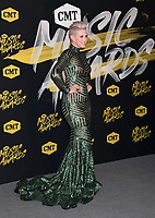 06 June 2018 - Nashville, Tennessee - Shawna Thompson. 2018 CMT Music Awards held at Bridgestone Arena.  <br /> CAP/ADM/LF<br /> &copy;LF/ADM/Capital Pictures