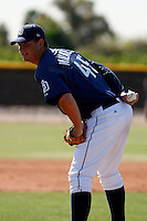 Chris Wilkes - San Diego Padres - 2009 spring training.Photo by:  Bill Mitchell/Four Seam Images