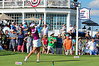 So Yeon Ryu (KOR) watches her tee shot on 16 during Sunday's final round of the 72nd U.S. Women's Open Championship, at Trump National Golf Club, Bedminster, New Jersey. 7/16/2017.<br /> Picture: Golffile | Ken Murray<br /> <br /> <br /> All photo usage must carry mandatory copyright credit (&copy; Golffile | Ken Murray)