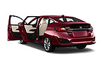 Car images close up view of a 2018 Honda Clarity Plug-In Hybrid 4 Door Sedan doors
