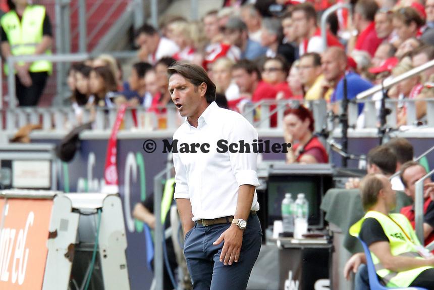 Trainer Bruno Labaddia (VfB) - Mainz 05 vs. VfB Stuttgart