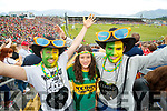 Kerry Fans at Fitzgerald Stadium  Fadel Oualid, Carmen Santos and Julio Aelia (Killarney)