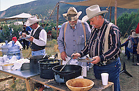 Chuckwagon chefs compete at the Lincoln County Cowboy Symposium brings together a host of chuckwagon chefs and other old-time fans of the cowboy lifestyle each September in sourthern New Mexico
