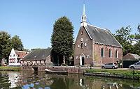 Nederland Oud-Zuilen - Augustus 2018. De Vecht. Voormalig Hervormde kerk van Oud-Zuilen.     Foto Berlinda van Dam / Hollandse Hoogte