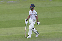 Ryan ten Doeschate of Essex leaves the field having been dismissed for 43 during Lancashire CCC vs Essex CCC, Specsavers County Championship Division 1 Cricket at Emirates Old Trafford on 10th June 2018
