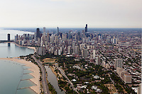 aerial photograph Lincoln Park, Chicago, Illinois