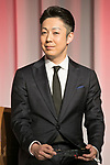 Japan's Best Dresser Awards winner Kikunosuke Onoe attends the 46th Awards ceremony on November 29, 2017, Tokyo, Japan. This year five people received the award for being fashion and lifestyle leaders in their fields. (Photo by Rodrigo Reyes Marin/AFLO)