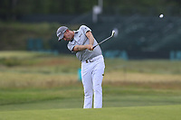 Webb Simpson (USA) plays his 2nd shot on the 9th hole during Thursday's Round 1 of the 118th U.S. Open Championship 2018, held at Shinnecock Hills Club, Southampton, New Jersey, USA. 14th June 2018.<br /> Picture: Eoin Clarke | Golffile<br /> <br /> <br /> All photos usage must carry mandatory copyright credit (&copy; Golffile | Eoin Clarke)