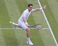 ANDY MURRAY (GBR)<br /> <br /> The Championships Wimbledon 2014 - The All England Lawn Tennis Club -  London - UK -  ATP - ITF - WTA-2014  - Grand Slam - Great Britain -  25th June 2014. <br /> <br /> &copy; Tennis Photo Network