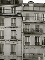 Parisian Row Houses