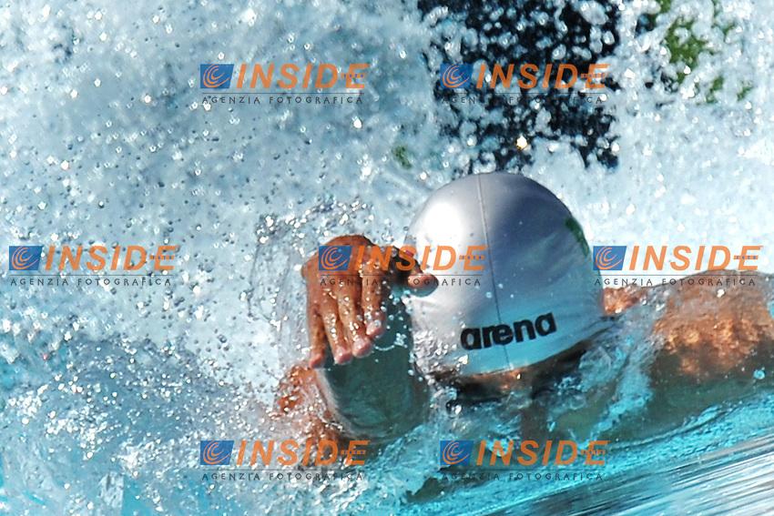 Filippo Magnini<br /> 100m Freestyle Men<br /> Roma 15/6/2013 Piscina del Foro Italico <br /> Nuoto 50mo trofeo Settecolli<br /> Settecolli 50th International swimming trophy <br /> Foto Antonietta Baldassarre Insidefoto