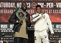 "11/20/19 - Las Vegas: Fox Sports PBC PPV ""Wilder v Ortiz"" Press Conference"
