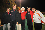 The 2008 Terrapin Coaching Staff poses for a group photo after Maryland's 10-0 win over VCU at the Field Hockey and Lacrosse Complex in College Park MD on October 30, 2008.  Christopher Blunck/UMTerps.com.