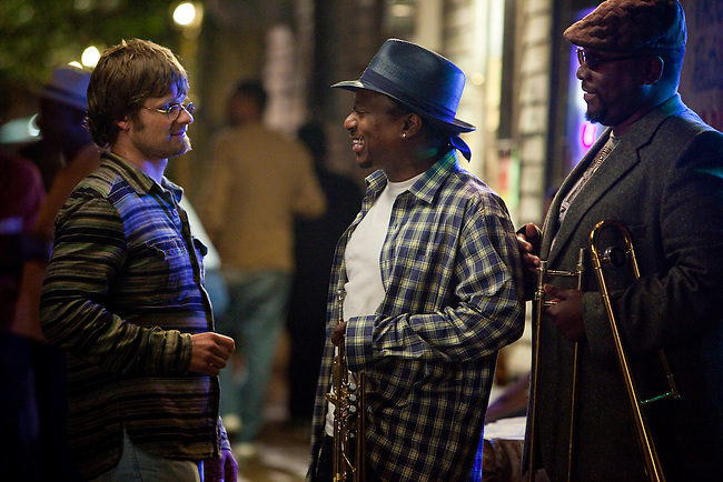 Steve Zahn, Kermit Ruffins and Wendell Pierce in the pilot episode of HBO's 'Treme' created by David Simon and Eric Overmyer.