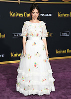"14 November 2019 - Westwood, California - Ana De Armas. ""Knives Out"" Los Angeles Premiere held at Regency Village Theater. Photo Credit: Birdie Thompson/AdMedia"