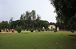 Tipu Sultan's summer palace lawn