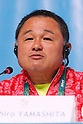 Yasuhiro Yamashita (JPN), <br /> AUGUST 21, 2016 : Seiko Hashimoto, Yasuhiro Yamashita, Yuji Takada attend a press conference at Main Press Center during the Rio 2016 Olympic Games in Rio de Janeiro, Brazil. <br /> (Photo by Sho Tamura/AFLO SPORT)
