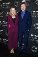 LOS ANGELES - NOV 21:  Liza Powel, Conan OBrien at the The Paley Honors: A Special Tribute To Television's Comedy Legends at Beverly Wilshire Hotel on November 21, 2019 in Beverly Hills, CA
