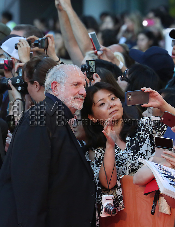 Brian De Palma with fans during 'The Magnificent Seven' Red Carpet Gala Opening Night of the 2016 Toronto International Film Festival at TIFF Bell Lightbox on September 8, 2016 in Toronto, Canada.