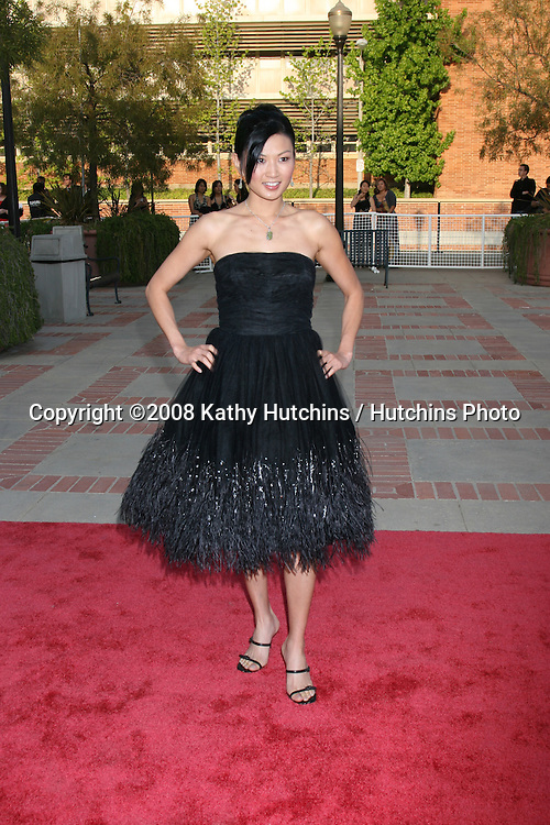 Michelle Krusiec.Asian Excellence Awards 2008.Royce Hall.Westwood, CA.April 23, 2008.©2008 Kathy Hutchins / Hutchins Photo