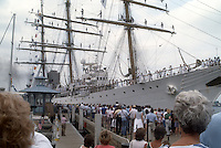 1986 June .Historical.....TALL SHIPS...NEG#.NRHA#..