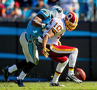 The Carolina Panthers vs.The Washington Redskins at Bank of America Stadium in Charlotte, North Carolina...Photos by: Patrick Schneider Photo.com