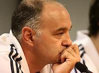 5.06.2012 Barcelona. Rueda de prensa de presentacion playoff final liga ACB. Pablo Laso