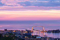 """Aerial Lift Bridge Sunrise""<br />