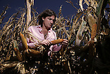 Manuel Santos Uribelarrea , uno de los agricultores mas importantes de la Argentina, en un campo de Villa Cañas, Santa Fe, Argentina