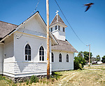 "Former church now ""Heritage Hall"" museum, Dubois, Idaho"
