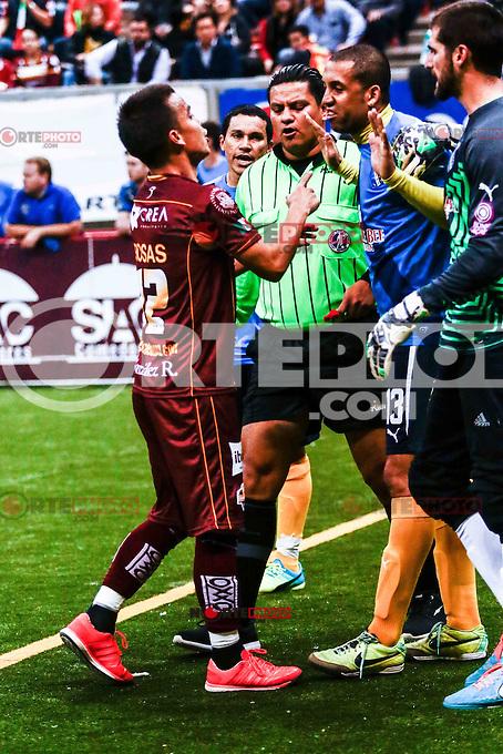 , durante el partido San Diego Sockers vs Soles del futbol r&aacute;pido,  Jornada 14 de la Major Arena Soccer League (MASL), realizado en el CUM.<br /> <br /> Major Arena Soccer League (MASL)<br /> <br /> HermosilloSonora a 23Diciembre2015.<br /> CreditoFoto:LuisGutierrez