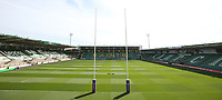 A general view of Franklin's Gardens, home of Northampton Saints<br /> <br /> Photographer Stephen White/CameraSport<br /> <br /> European Rugby Challenge Cup - Northampton Saints v Clermont Auvergne - Saturday 13th October 2018 - Franklin's Gardens - Northampton<br /> <br /> World Copyright © 2018 CameraSport. All rights reserved. 43 Linden Ave. Countesthorpe. Leicester. England. LE8 5PG - Tel: +44 (0) 116 277 4147 - admin@camerasport.com - www.camerasport.comA general view of Franklin's Gardens, home of Northampton Saints<br /> <br /> Photographer Stephen White/CameraSport<br /> <br /> European Rugby Challenge Cup - Northampton Saints v Clermont Auvergne - Saturday 13th October 2018 - Franklin's Gardens - Northampton<br /> <br /> World Copyright © 2018 CameraSport. All rights reserved. 43 Linden Ave. Countesthorpe. Leicester. England. LE8 5PG - Tel: +44 (0) 116 277 4147 - admin@camerasport.com - www.camerasport.com