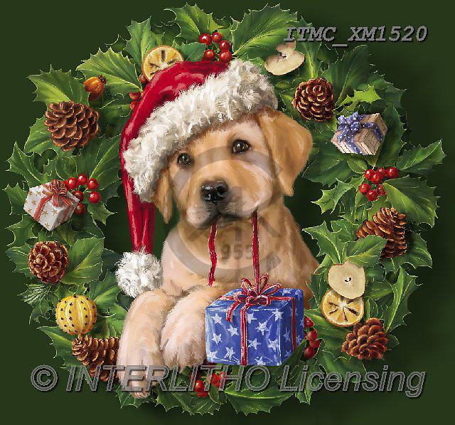Christmas - animals cute paintings