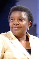 Cecile Kyenge <br /> Genova 03-09-2013 Festa Nazionale Partito Democratico<br /> Photo  Genova Foto /Insidefoto