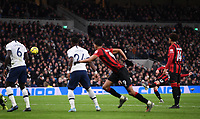 30th November 2019; Tottenham Hotspur Stadium, London, England; English Premier League Football, Tottenham Hotspur versus AFC Bournemouth; Harry Wilson of Bournemouth scores from a free kick in 73rd minute 3-1 - Strictly Editorial Use Only. No use with unauthorized audio, video, data, fixture lists, club/league logos or 'live' services. Online in-match use limited to 120 images, no video emulation. No use in betting, games or single club/league/player publications