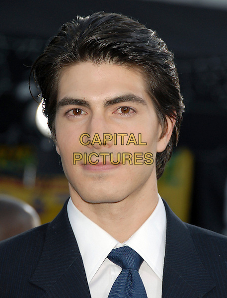 """BRANDON ROUTH.The Warner Brothers' World Premiere of """"Superman Returns"""" held at The Mann Village Theatre in Westwood, California, USA..June 21st, 2006.Ref: DVS.headshot portrait.www.capitalpictures.com.sales@capitalpictures.com.Supplied By Capital PIctures"""
