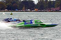 "Mathew Daoust, GP-9 and Brandon Kennedy, GP-25 ""EMS Survior"" (Grand Prix Hydroplane(s)"