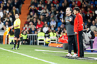 Real Madrid CF vs Athletic Club de Bilbao (5-1) at Santiago Bernabeu stadium. The picture shows Marcelo Bielsa. November 17, 2012. (ALTERPHOTOS/Caro Marin) NortePhoto