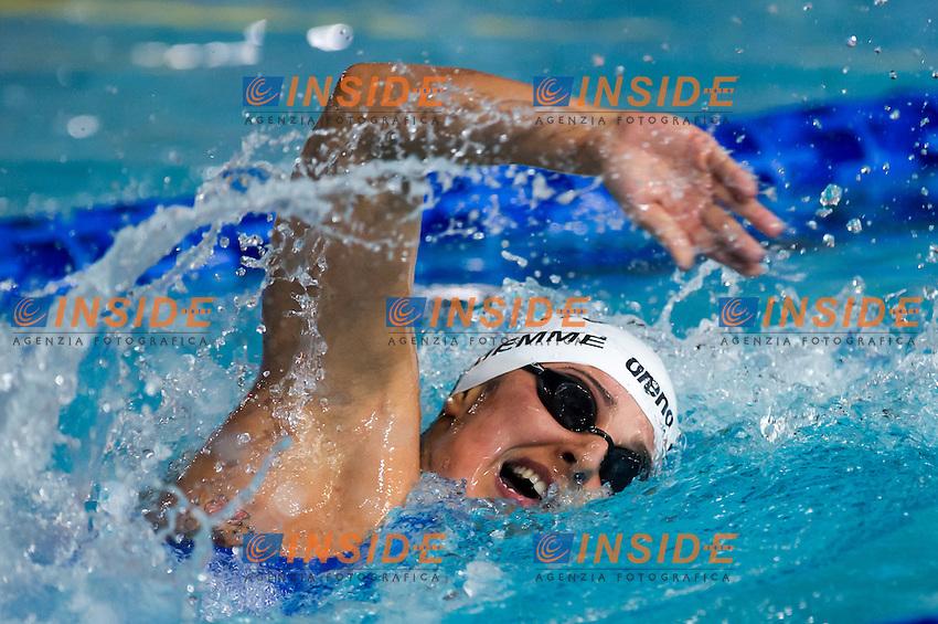 DE MEMME Martina - Circolo Canottieri Aniene<br /> 800m stile libero donne<br /> Campionati Italiani Assoluti Nuoto Invernali Open Fin<br /> Riccione Italy 17/12/2015<br /> Photo Giorgio Perottino/Deepbluemedia/Insidefoto