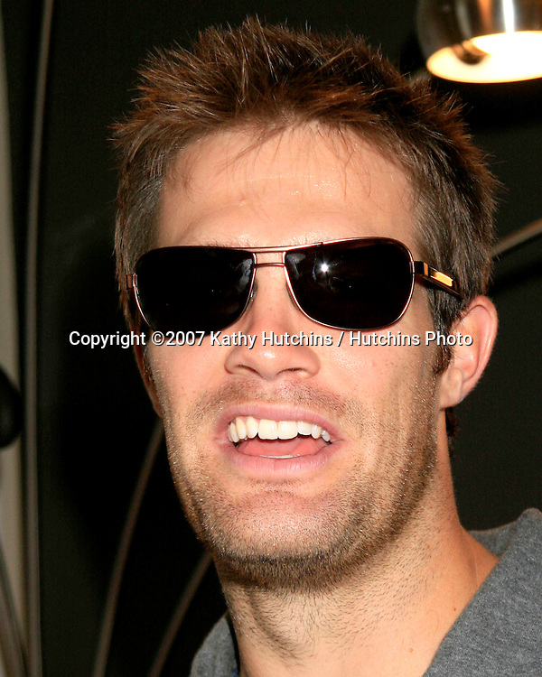 Geoff stults.GBK Emmy Gifting Suite.Hollywood Roosevelt Hotel.Los Angeles,  CA.September 14, 2007.©2007 Kathy Hutchins / Hutchins Photo...