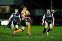 Benhard Janse van Rensburg of Cheetahs in action during the Guinness Pro 14 Round 7 match between Ospreys and Cheetahs at The Gnoll in Neath, Wales, UK. Saturday 30 November 2019