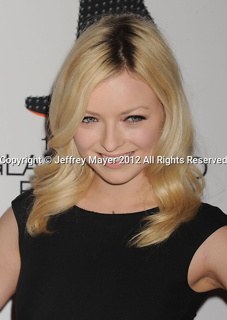 CENTURY CITY, CA - MAY 18: Francesca Eastwood  arrives at the 19th Annual Race To Erase MS Event at the Hyatt Regency Century Plaza on May 18, 2012 in Century City, California.