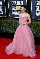 LOS ANGELES, CA. January 06, 2019: Emmy Rossum at the 2019 Golden Globe Awards at the Beverly Hilton Hotel.<br /> Picture: Paul Smith/Featureflash