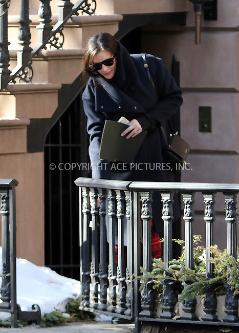 WWW.ACEPIXS.COM<br /> <br /> February 24 2015, New York City<br /> <br /> Actress Liv Tyler sports what may be an engagement ring as she leaves her West Village Brownstone on February 24 2015 in New York City<br /> <br /> By Line: Zelig Shaul/ACE Pictures<br /> <br /> <br /> ACE Pictures, Inc.<br /> tel: 646 769 0430<br /> Email: info@acepixs.com<br /> www.acepixs.com