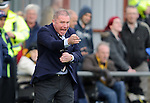 Ally McCoist looking animated during the match