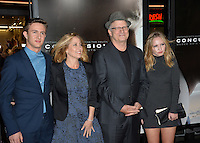 Actor Albert Brooks &amp; family at the premiere of his movie &quot;Concussion&quot;, part of the AFI FEST 2015, at the TCL Chinese Theatre, Hollywood.<br /> November 10, 2015  Los Angeles, CA<br /> Picture: Paul Smith / Featureflash