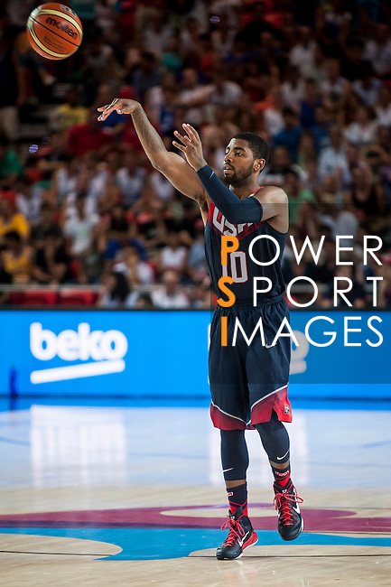 Kyre Irving of United States of America during FIBA Basketball World Cup 2014 group C between United States of America vs Turkey  on August 31, 2014 at the Bilbao Arena stadium in Bilbao, Spain. Photo by Nacho Cubero / Power Sport Images