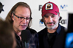 """Andrew Lincoln and director of the series, Greg Nicotero attends to an event with fans of """"The Walking Dead"""" at Cines Capitol in Madrid. March 09, 2017. (ALTERPHOTOS/Borja B.Hojas)"""