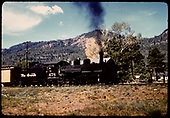 D&amp;RGW #478 K-28 with excursion train north of Durango (Hermosa area).<br /> D&amp;RGW  n. of Durango, CO