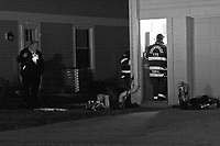 Countryside Fire Department Crew Investigates Possible Gas Leak in Home in Vernon Hills Illinois 11-